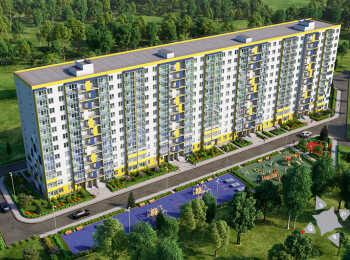12-этажный многоквартирный жилой дом